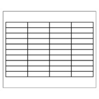 Free avery template for microsoft word hanging folder for Hanging folder tab template