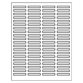 Free avery template for index maker clear label dividers for Index divider templates