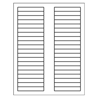 Index Maker Dividers, 3 tab, DOC file for Microsoft Word all versions