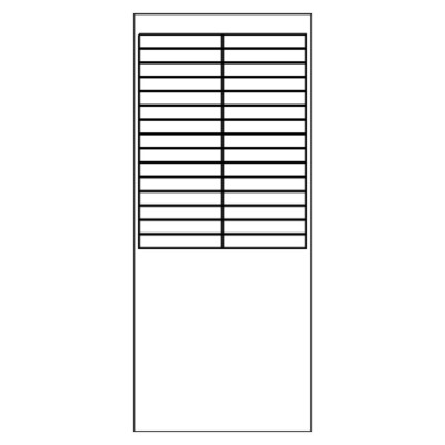 avery print on tabs template - adhesive index tabs