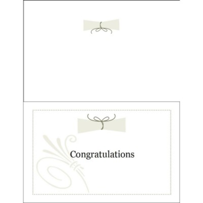 Graduation Half-Fold Greeting Card - Congratulations
