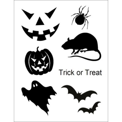Halloween Designs T-Shirt Transfer, 1 per sheet