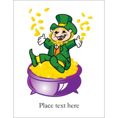 Leprechaun T-Shirt Transfer, 1 per sheet