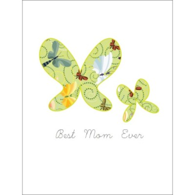 Mother's Day Butterflies T-Shirt Transfer, 1 per sheet