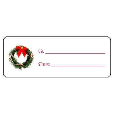 Home Templates & Software Templates Labels Address Labels Christmas ...