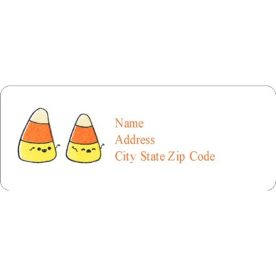 halloween address labels