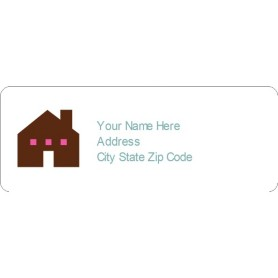Templates simple home address label 30 per sheet avery for Avery 5630 template