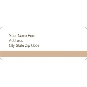 Templates pale taupe border address labels 30 per sheet for Avery 6241 template
