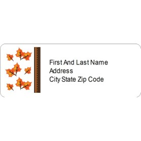 avery 6241 template - templates thanksgiving fall leaves address label 30 per