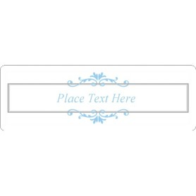 Templates wedding ornamental frame address label 14 per for Avery 5962 template