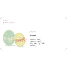 Templates easter eggs shipping labels 6 per sheet avery for Avery template 48863