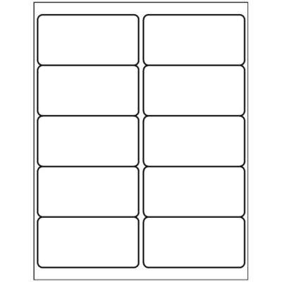 Free Avery® Template for Microsoft® Word, Shipping Label 5163, 8163