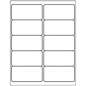 avery 5424 template - templates shipping label 10 per sheet avery