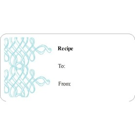Templates turquoise gift labels 10 per sheet avery for Avery template 48863