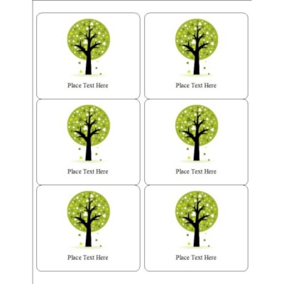 Love a Tree Labels, 6 per sheet