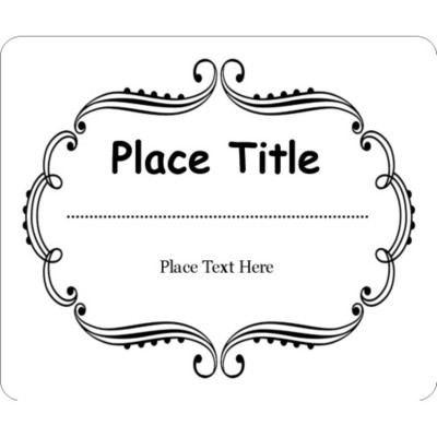 8254 template for word