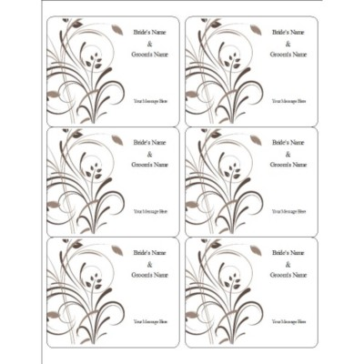 avery wine label templates looking for answers about avery wedding elegant swirls