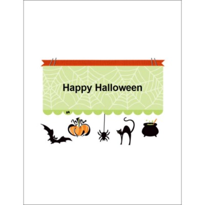 Halloween Border Window Decal