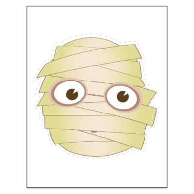 Mummy Sticker Paper