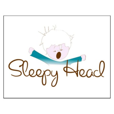 Sleepyhead Boy Pillowcase Fabric Transfer