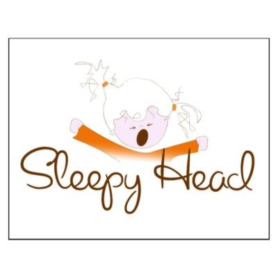 Sleepyhead Girl Pillowcase Fabric Transfer