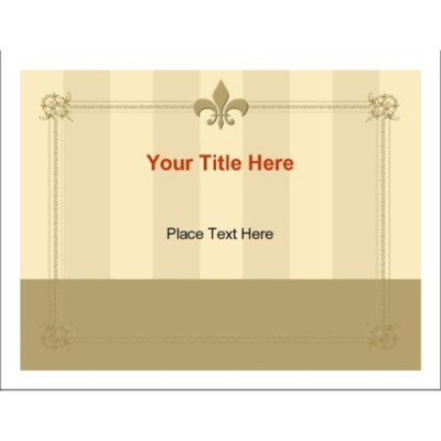 Fleur de Lis Full Sheet Labels, 1 per sheet