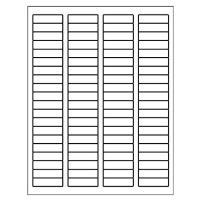 ID Label, 80 per sheet