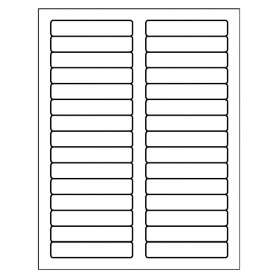 Free avery template for microsoft word filing label 5066 for Free template for labels 30 per sheet