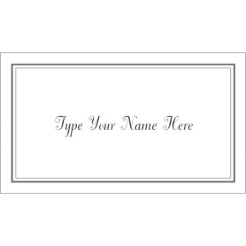 templates gray border graduation name card 10 per sheet avery