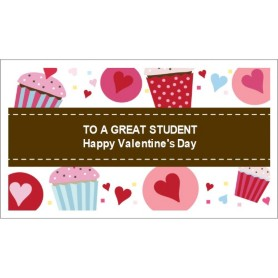 Templates valentine cupcakes business cards 10 per for Avery templates business cards 10 per sheet