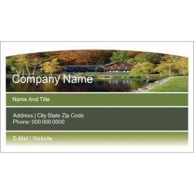 Templates beautiful landscaped home business card wide for Avery template 28371 business cards