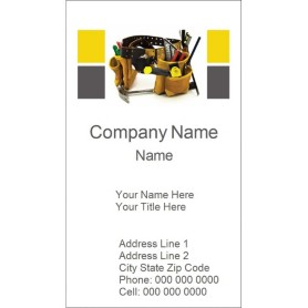 templates tool belt business card tall 10 per sheet avery