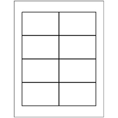 Templates - Name Badge Insert, 8 per sheet, 5390 | Avery