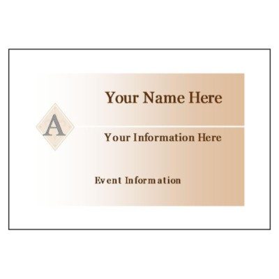 name badges template 5395