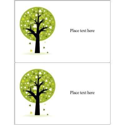 Love a Tree Label, 2 per sheet