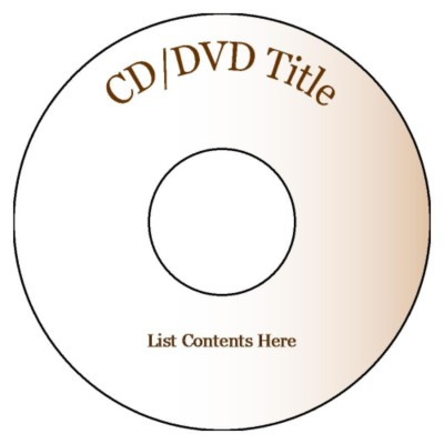 cd label word template