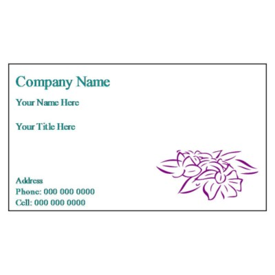 Free Avery Template for Microsoft Word Business Card