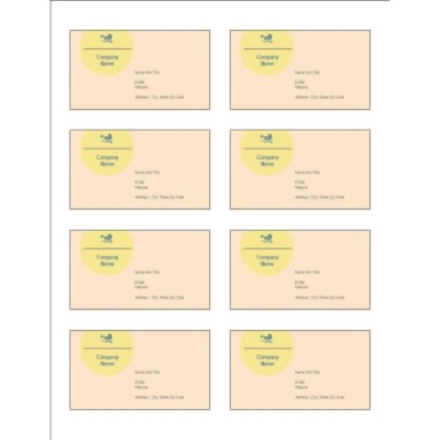 Blue Bird Design Adhesive Pocket Inserts, 8 per sheet