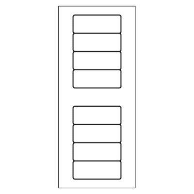 Address Label, 8 per mini-sheet
