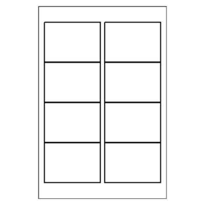 Multi-Use Label, 8 per 4x6 sheet, 4320