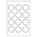 Free averyr template for microsoft word round label 5410 for Avery 4x6 labels