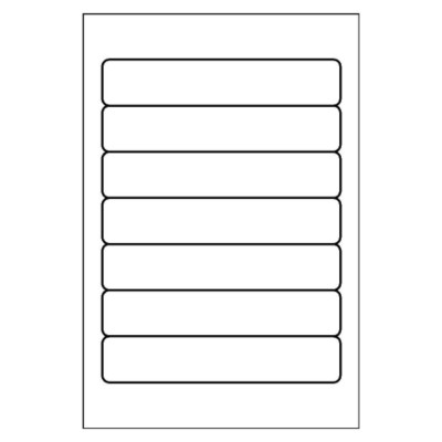 Filing Label, 7 per 4x6 sheet