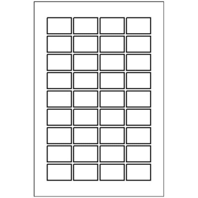 Multi-Use Label, 36 per 4x6 sheet, 5418
