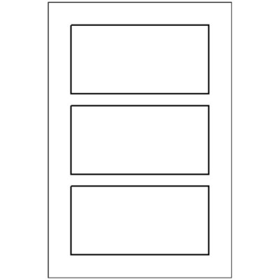 Multi-Use Label, 3 per 4x6 sheet, 5440
