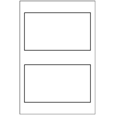 Multi-Use Label, 2 per 4x6 sheet, 5444