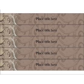 Templates antique flourish binder spine for 1 1 2 inch for 3 inch binder spine template word