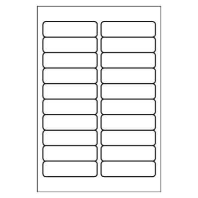 Multi-Use Label, 20 per 4x6 sheet