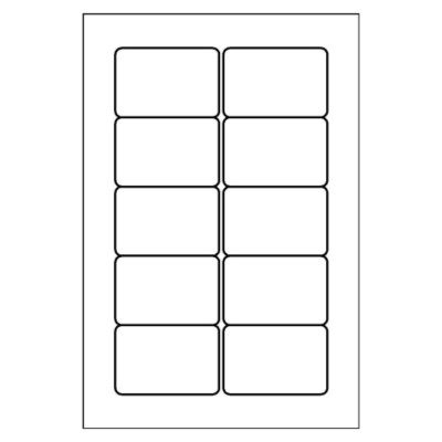 Multi-Use Label, 10 per 4x6 sheet, 5434