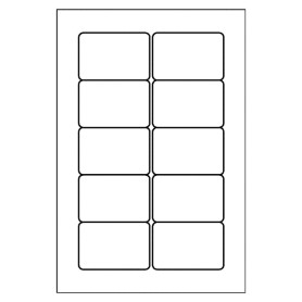 Free averyr template for microsoft word multi use label 5434 for Avery 4x6 labels