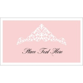 templates cards tent cards birthday tiara small tent card 4 per sheet